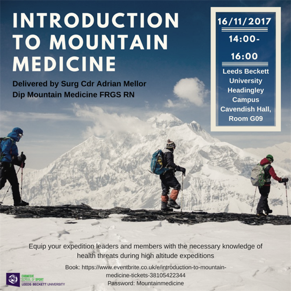 Professional Update – Mountain Medicine