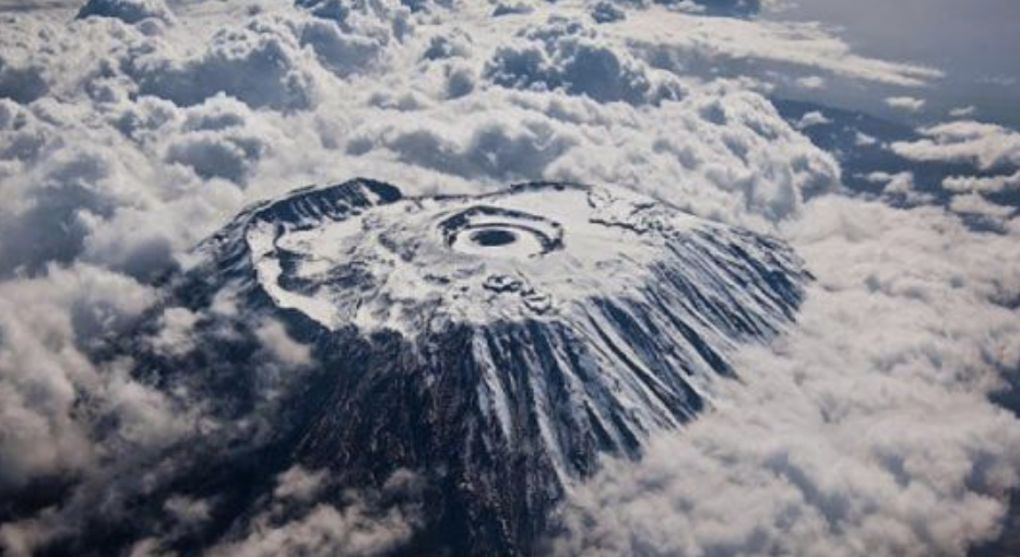 kilimanjaro as seen from space